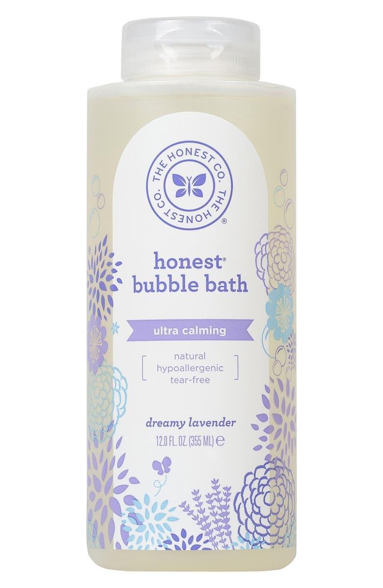 THE HONEST COMPANY Ultra Calming Bubble Bath, Main, color, PURPLE