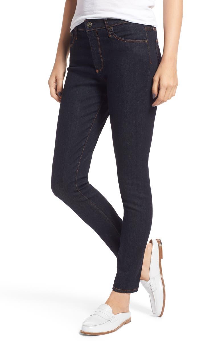 AG The Farrah Ankle Skinny Jeans, Main, color, 400