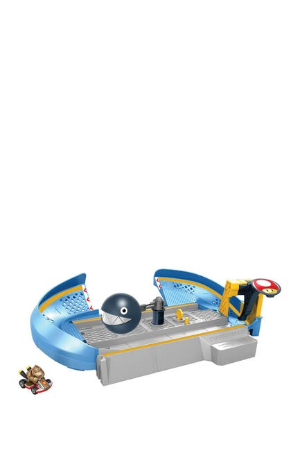 Image of Mattel Hot Wheels(R) Mario Kart(TM) Chain Chomp Track Set