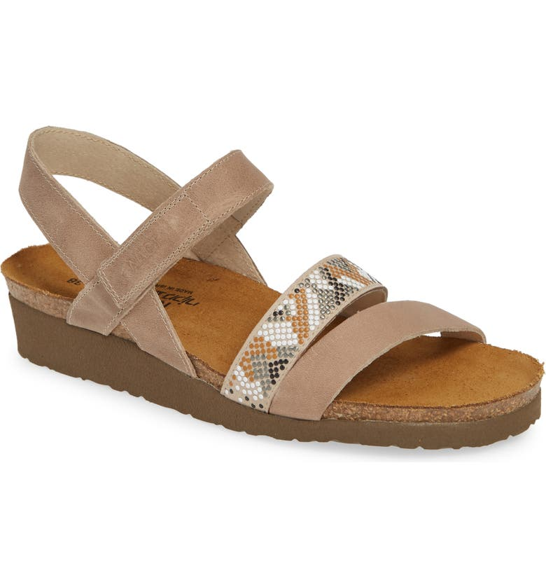 NAOT Gwyneth Sandal, Main, color, KHAKI BEIGE