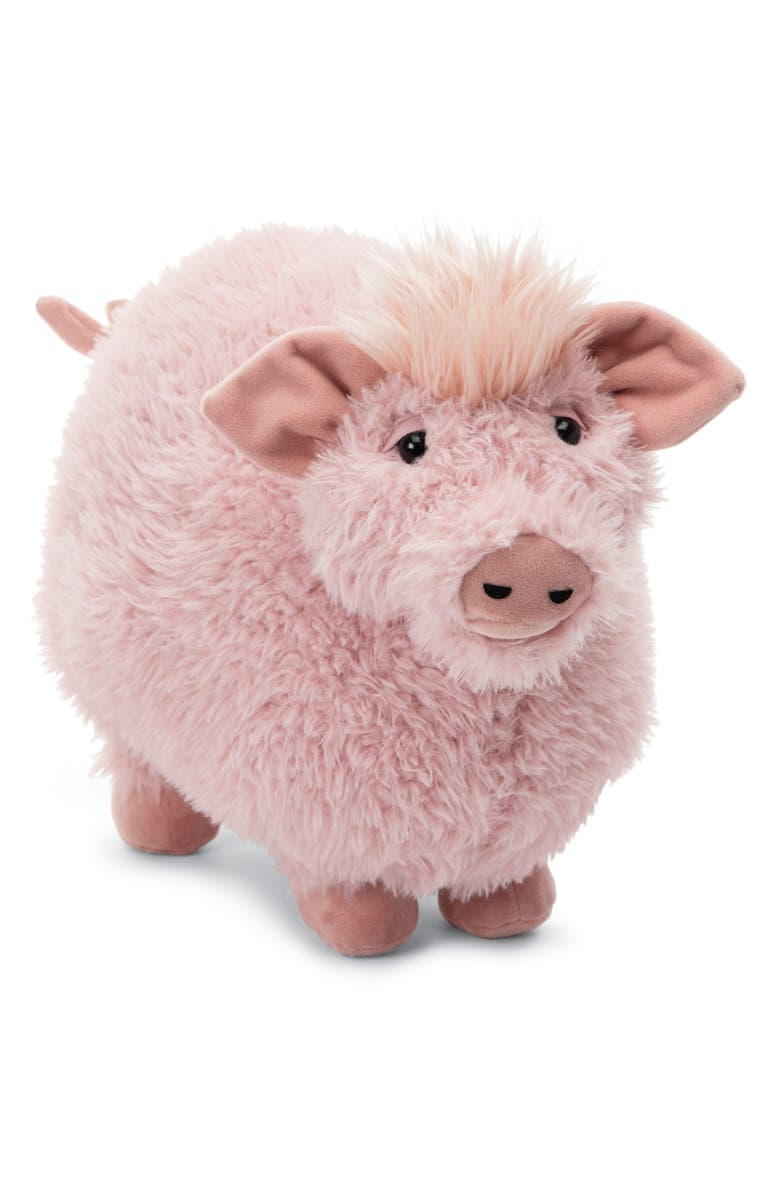 JELLYCAT Rolbie Pig Stuffed Animal, Main, color, PINK