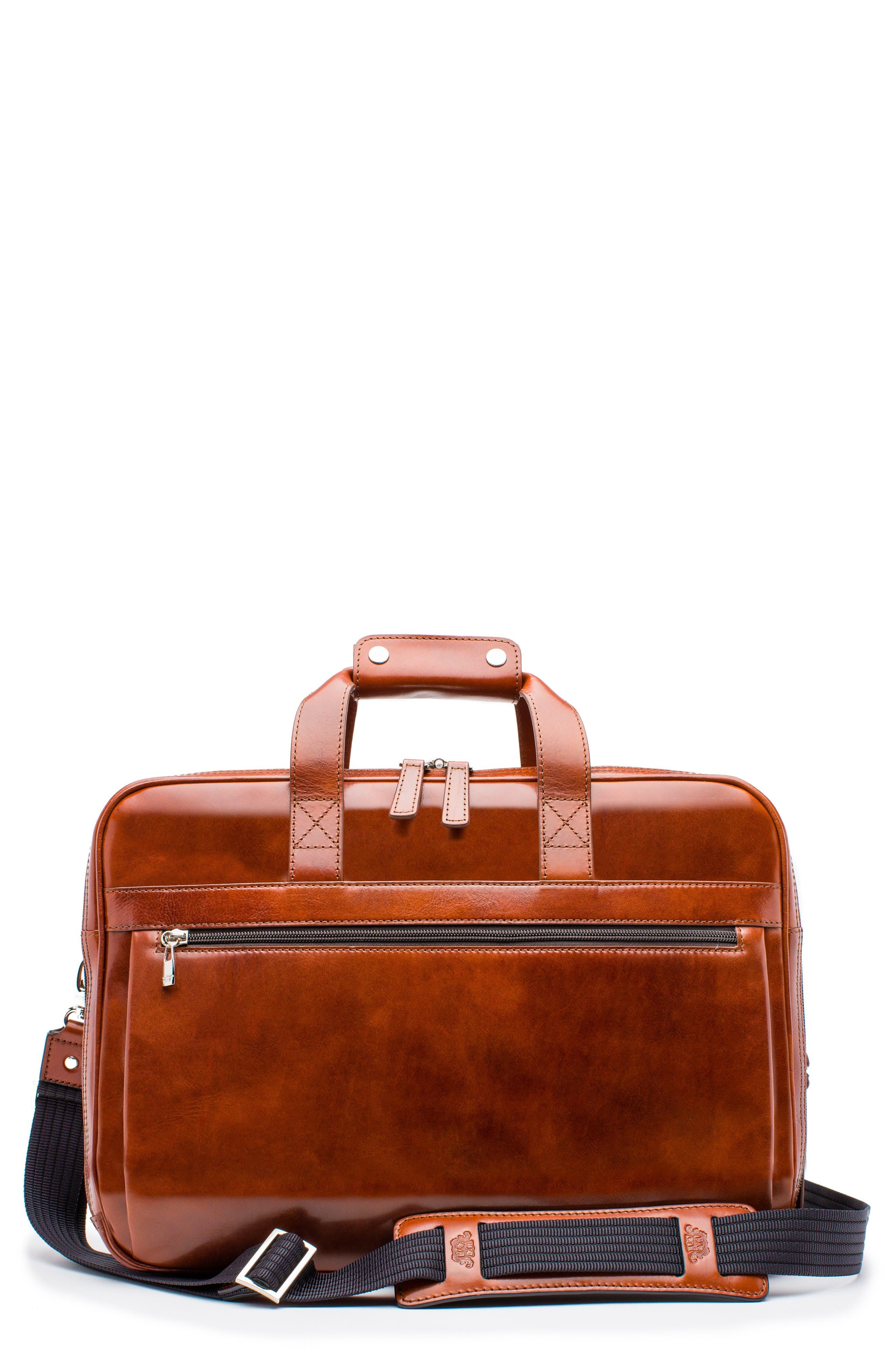 Stringer Leather Briefcase