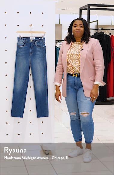 Le Sylvie Slender Straight Leg Jeans, sales video thumbnail