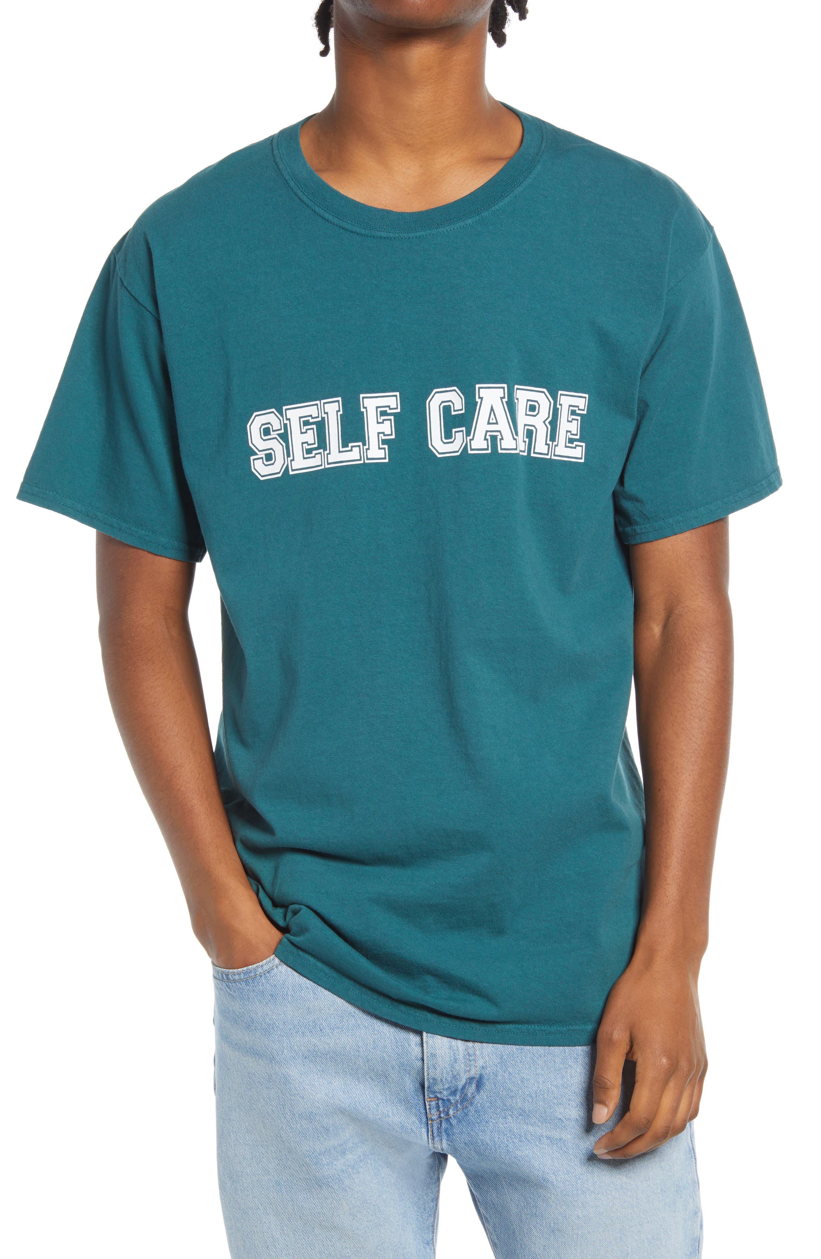 Men's Self Care Graphic Tee