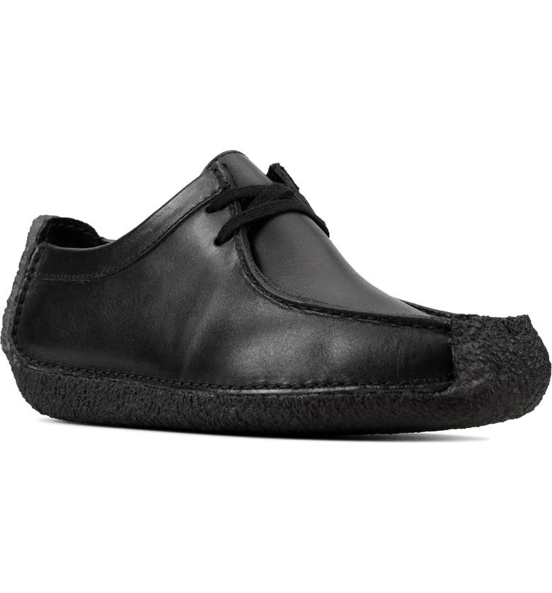 CLARKS<SUP>®</SUP> Natalie Flat, Main, color, BLACK SMOOTH LEATHER