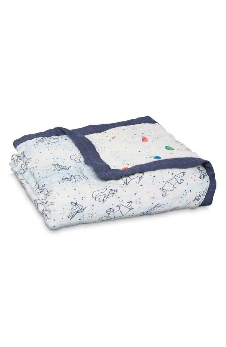 ADEN + ANAIS 'Silky Soft Dream' Blanket, Main, color, STARGAZE