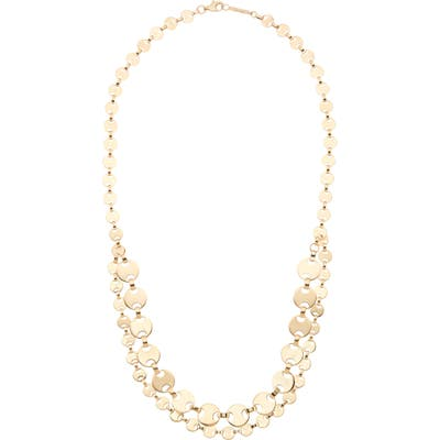 Lana Jewelry Two-Row Flat Man Chain Necklace