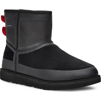 UGG Classic Mini Urban Tech Waterproof Boot, Black