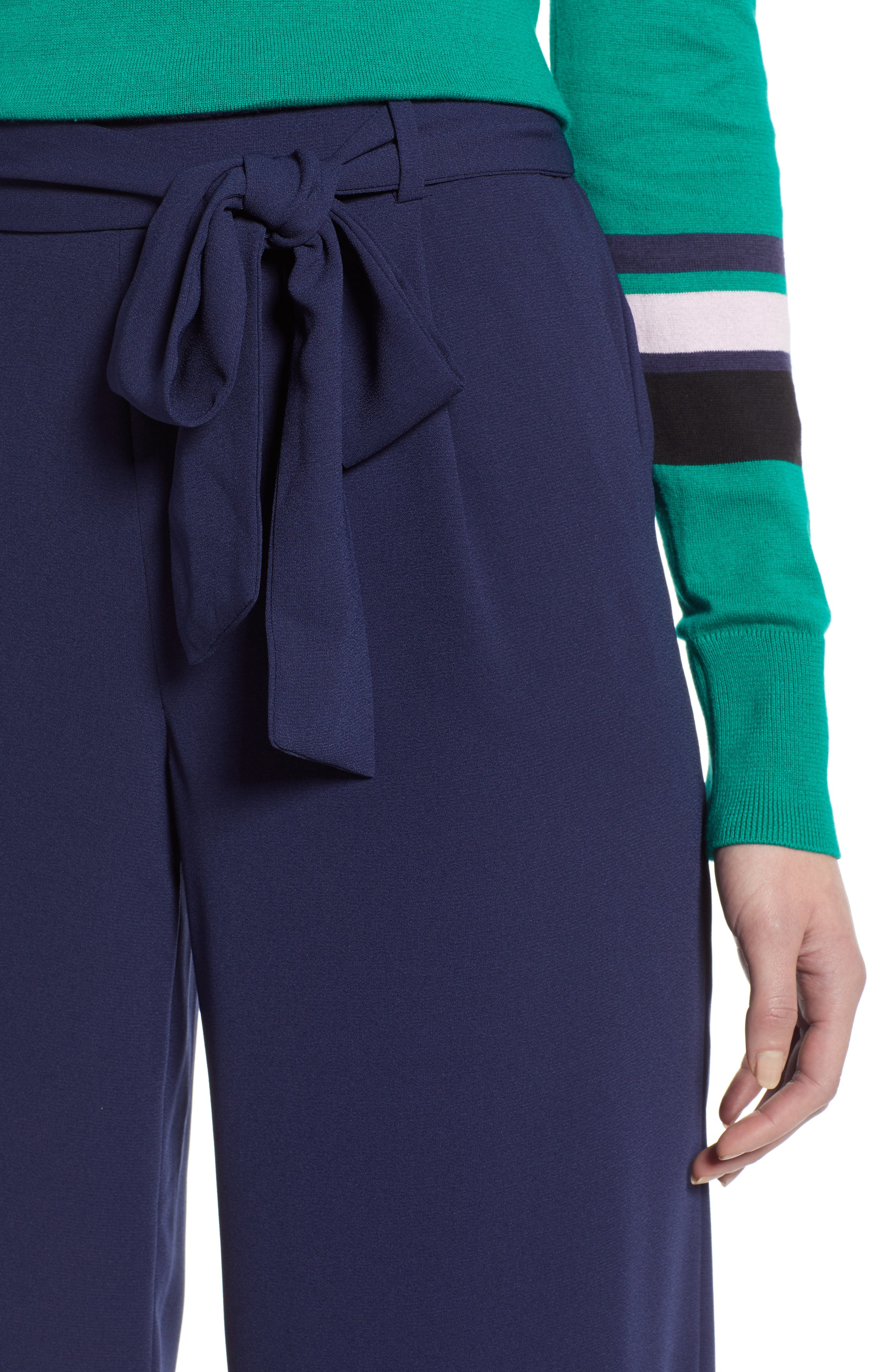 ,                             Wide Leg Crop Pants,                             Alternate thumbnail 74, color,                             415