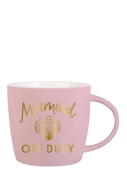 "Image of SLANT COLLECTIONS ""Mermaid Off Duty"" Mug"