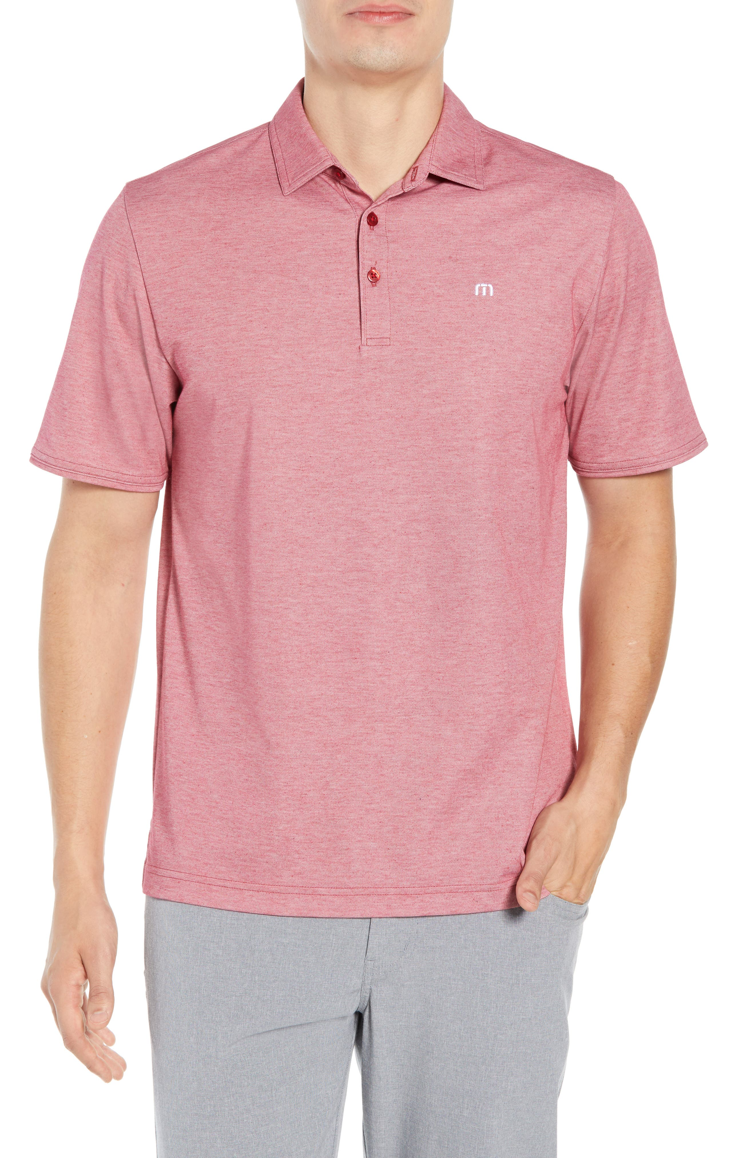 Image of TravisMathew Classy Regular Fit Jersey Polo