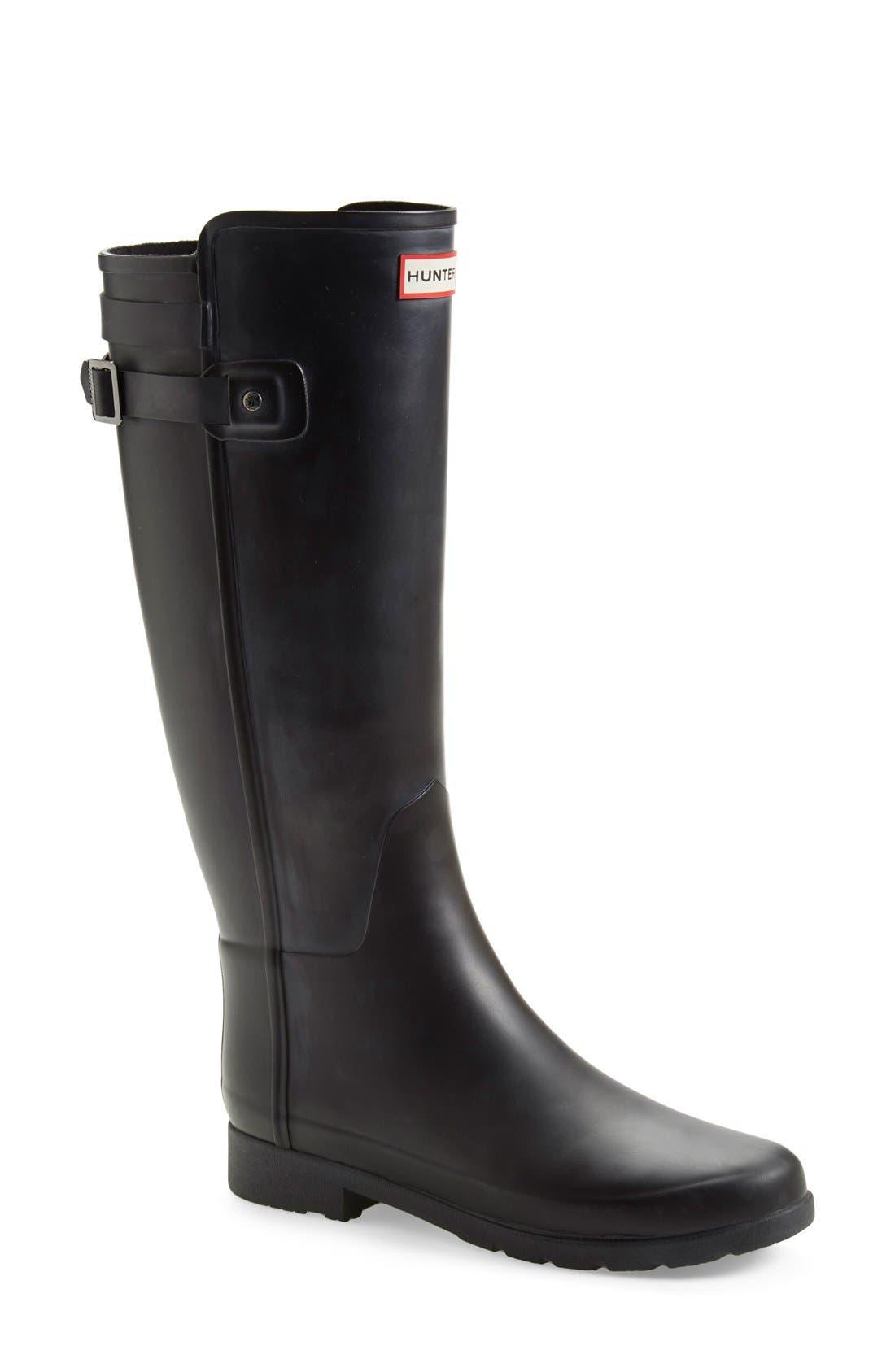 ,                             'Original Refined' Rain Boot,                             Main thumbnail 3, color,                             001