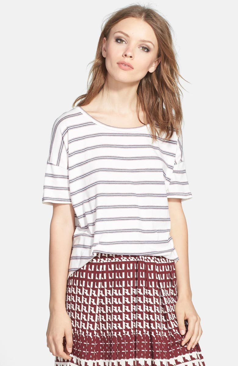 ACE DELIVERY Stripe Tee, Main, color, 100