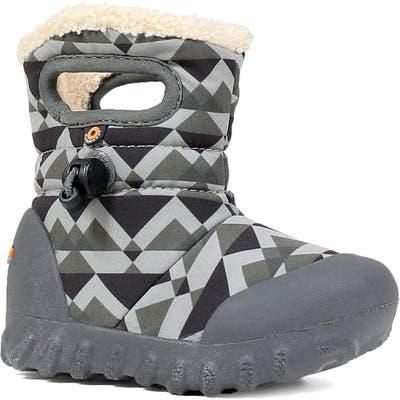 Bogs B-Moc Mountain Insulated Faux Fur Waterproof Boot