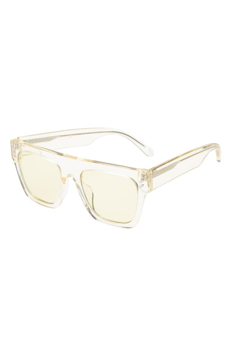 STELLA MCCARTNEY KIDS 45mm Square Sunglasses, Main, color, LIGHT YELLOW
