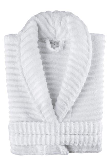 Image of Melange Home Zero Twist Ruffle Bath Robe
