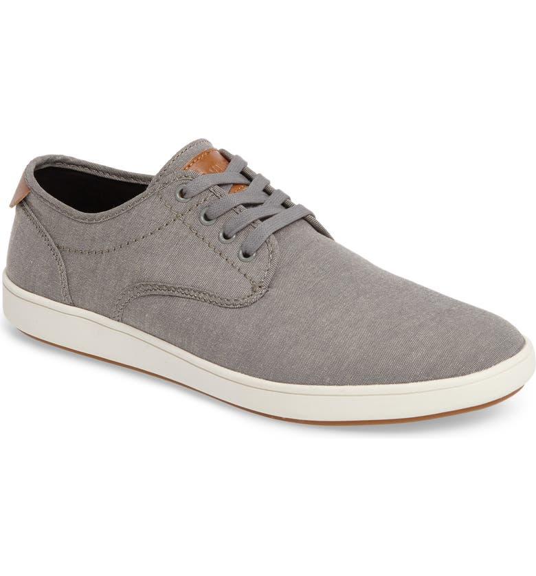 STEVE MADDEN Fenta Sneaker, Main, color, GREY FABRIC