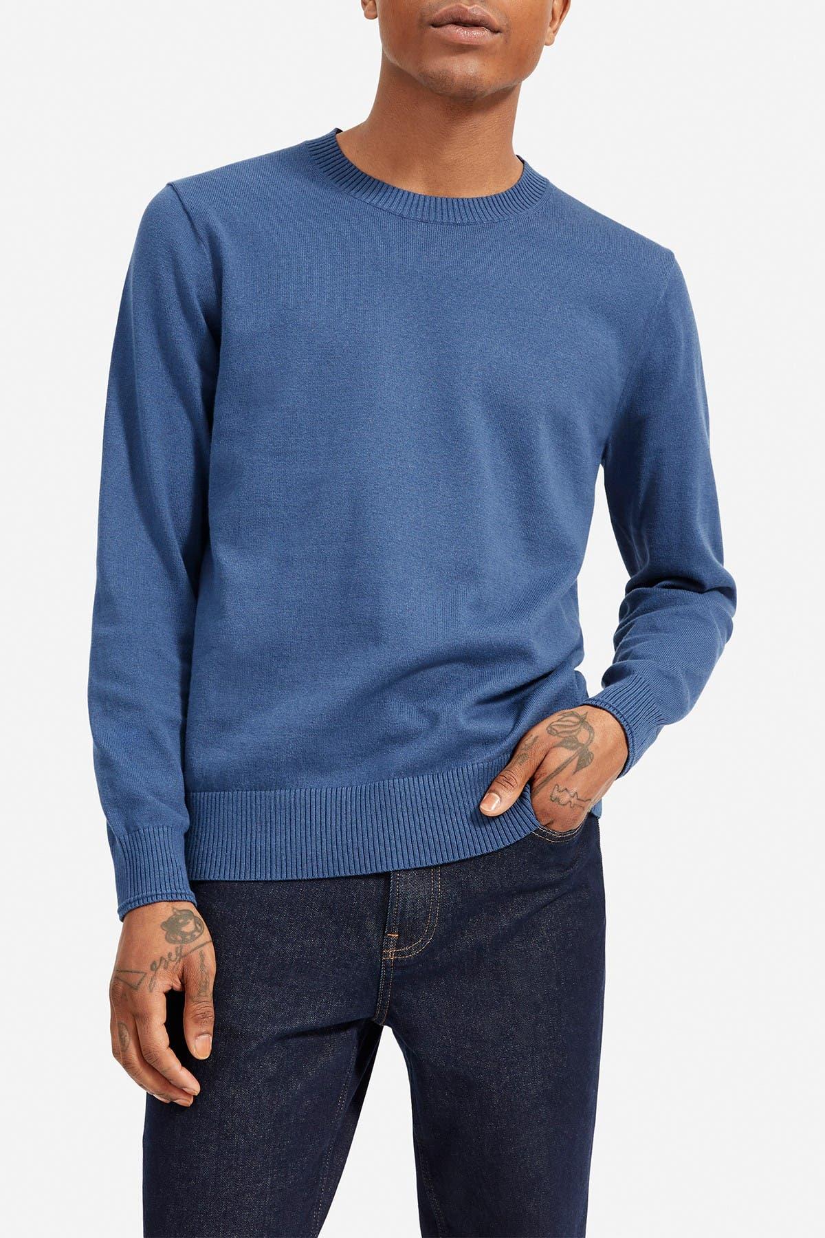 Image of EVERLANE Crew Neck Knit Sweater