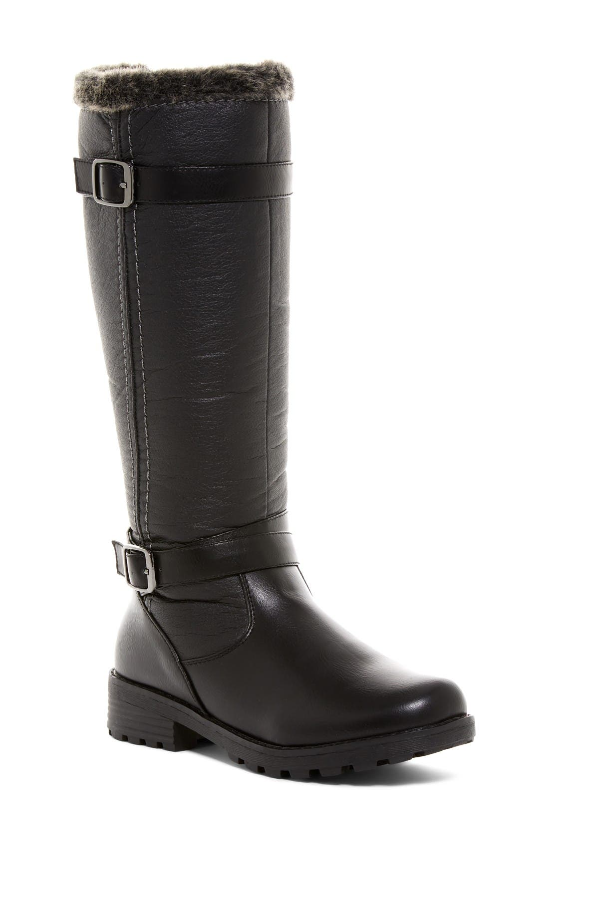 Image of Aquatherm by Santana Canada Blair Waterproof Faux Fur Tall Boot