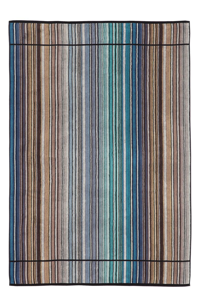 MISSONIHOME Missoni Tabata Hand Towel, Main, color, BLUE