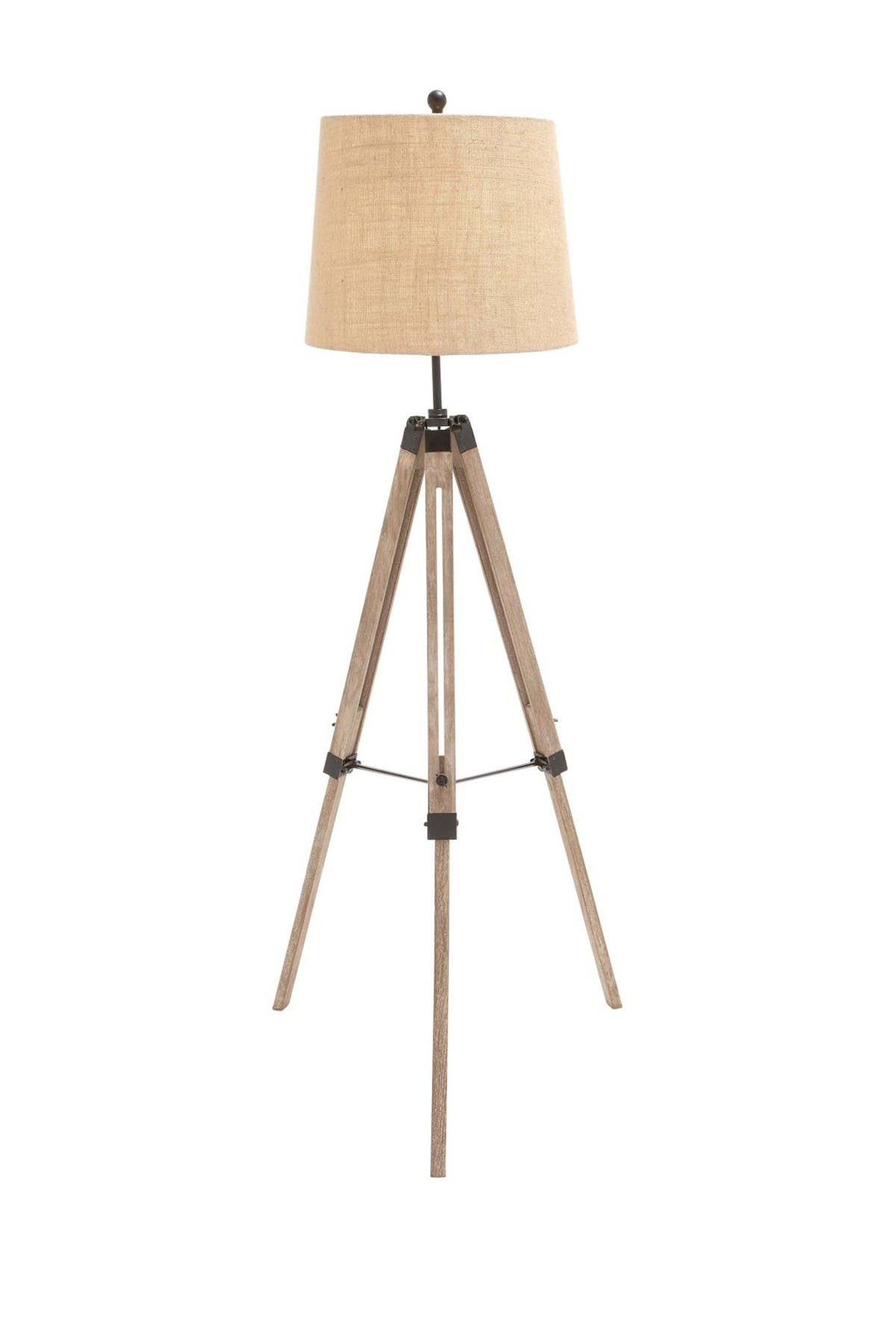 Willow Row Wood Metal Tripod Floor Lamp Nordstrom Rack
