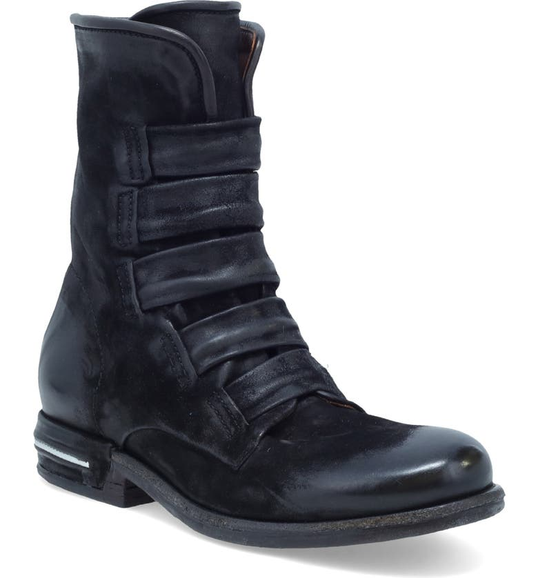 A.S.98 Traver Boot, Main, color, BLACK LEATHER
