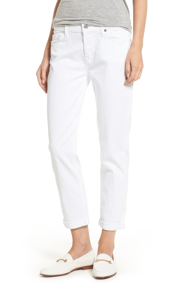 7 FOR ALL MANKIND<SUP>®</SUP> 'Josefina' Boyfriend Jeans, Main, color, 101