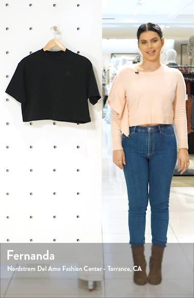 Sportswear Short Sleeve Jersey Crop Top, sales video thumbnail