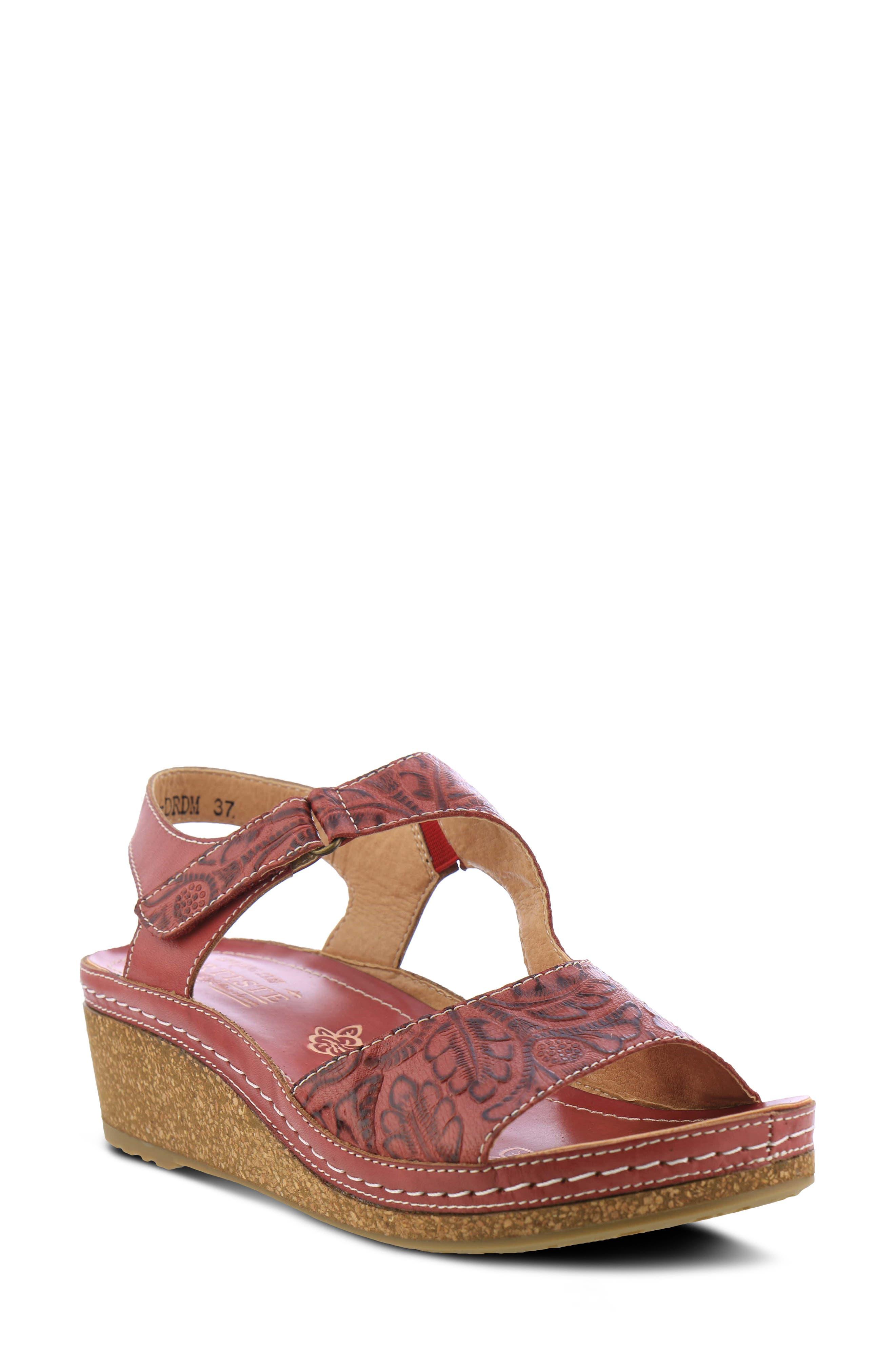 Zeta Wedge Sandal