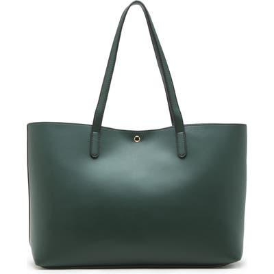Sole Society Zeda Faux Leather Tote - Green