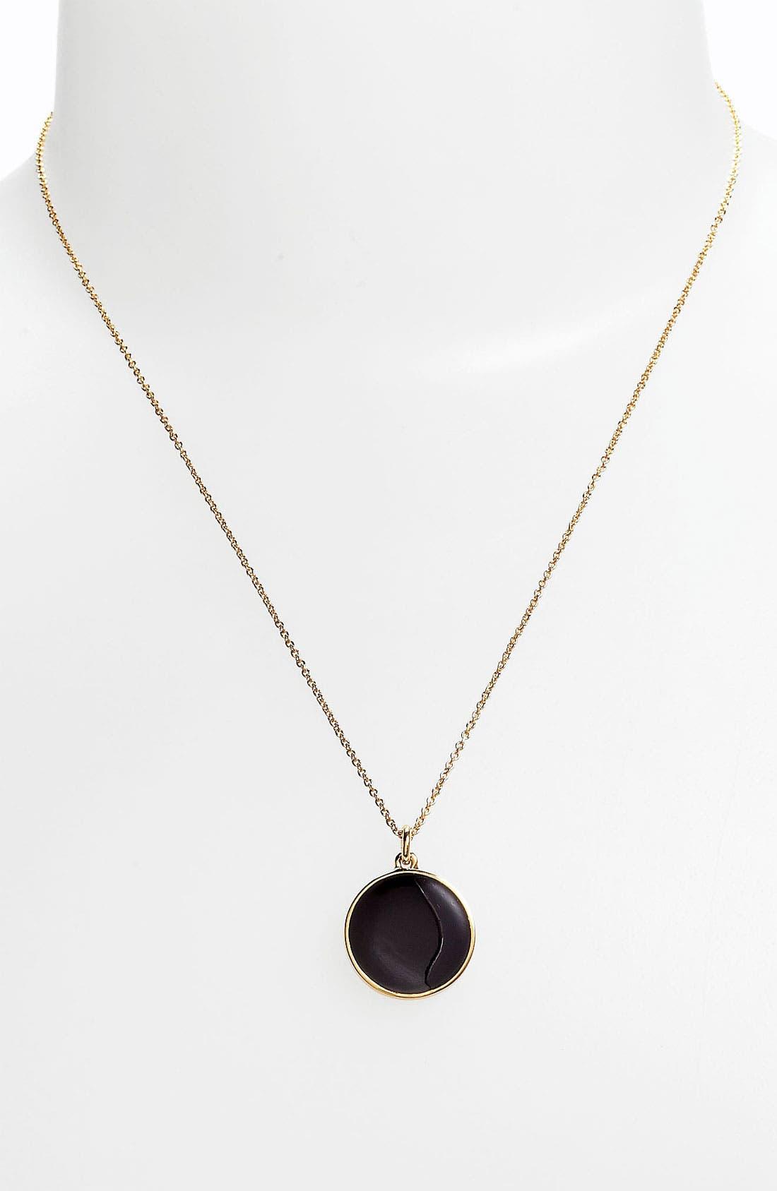 'idiom' reversible pendant necklace, Main, color, 001