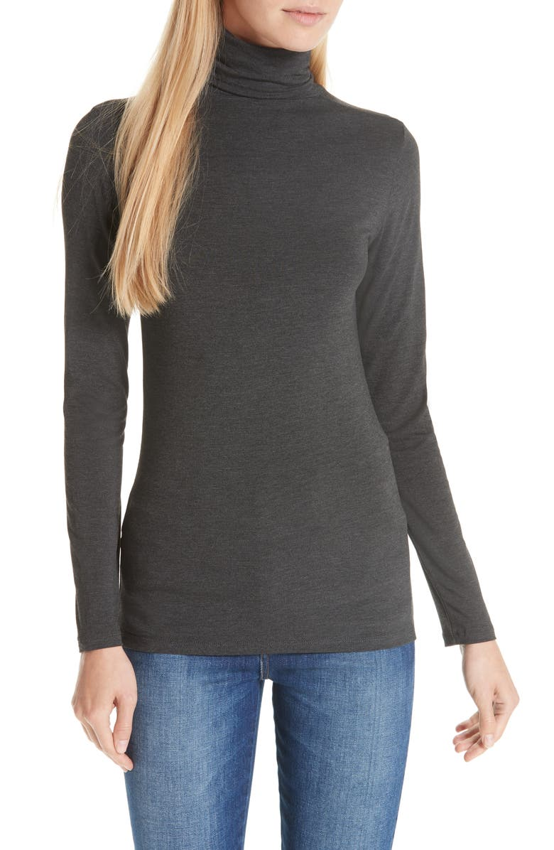 MAJESTIC FILATURES Turtleneck, Main, color, ANTHRACITE