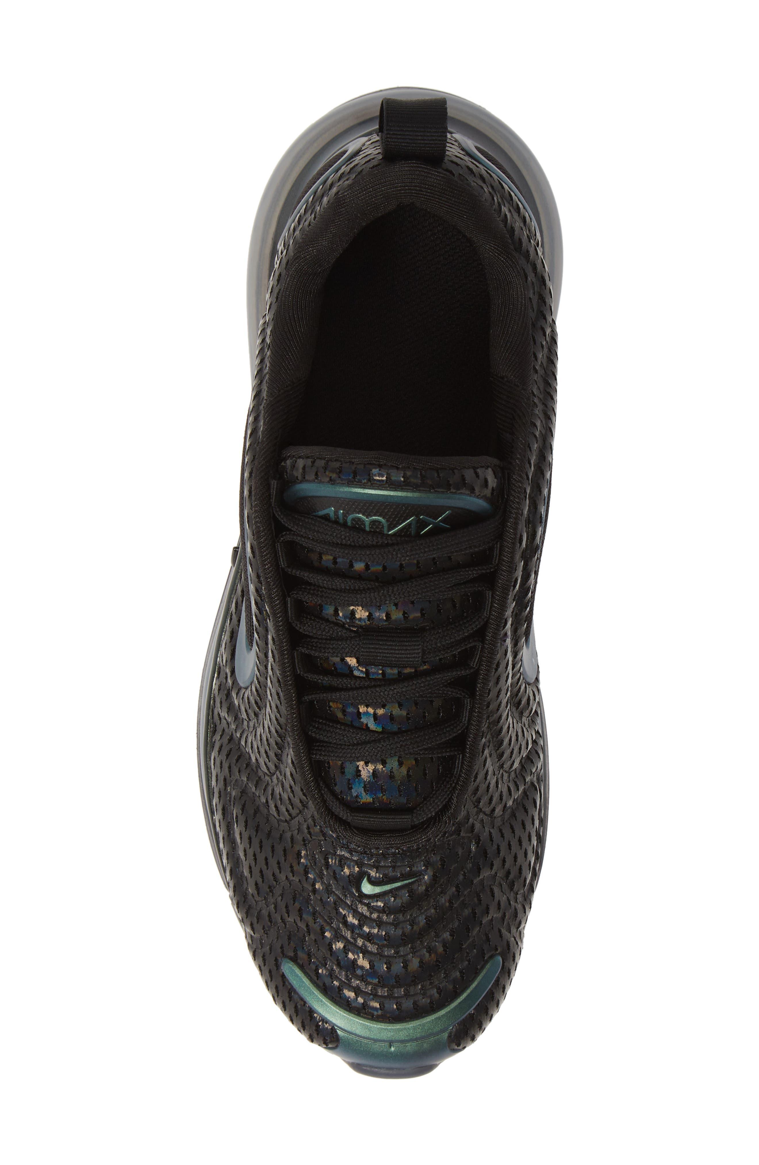 ,                             Air Max 720 Sneaker,                             Alternate thumbnail 5, color,                             BLACK/ FUCHSIA-ANTHRACITE