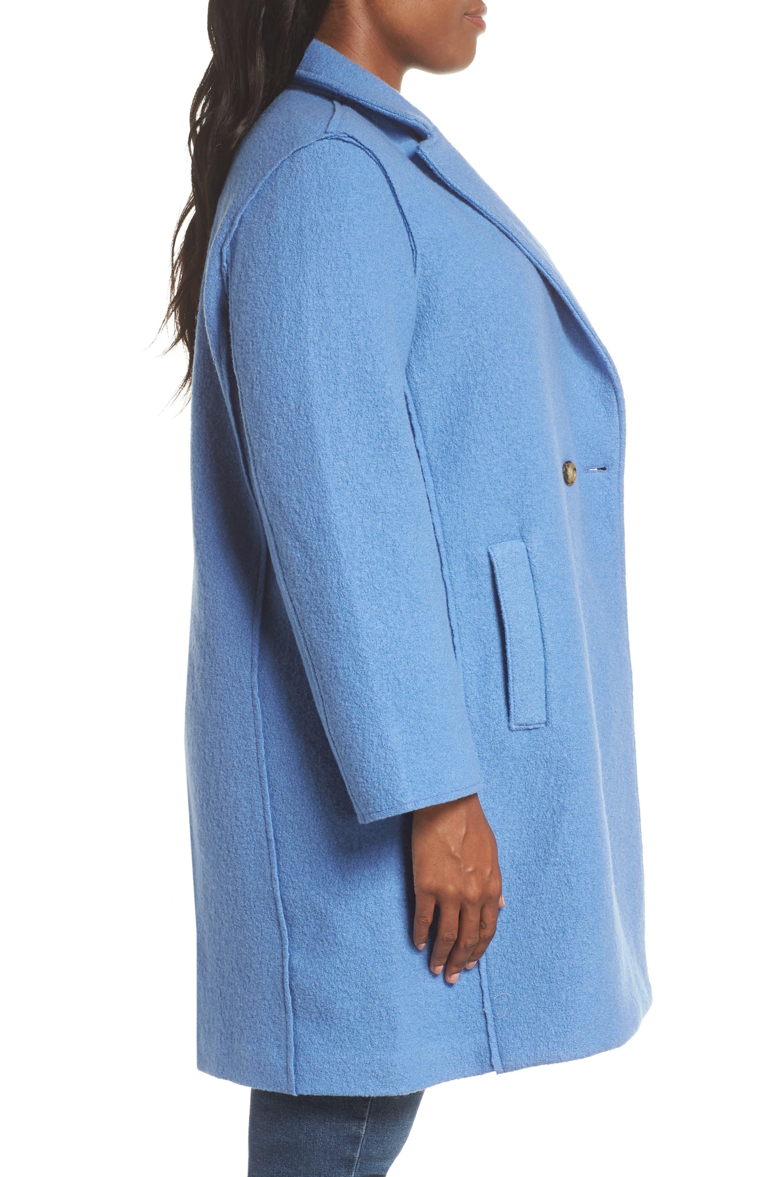 ,                             Daphne Boiled Wool Topcoat,                             Alternate thumbnail 16, color,                             022