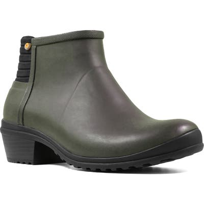 Bogs Vista Waterproof Rain Bootie, Green