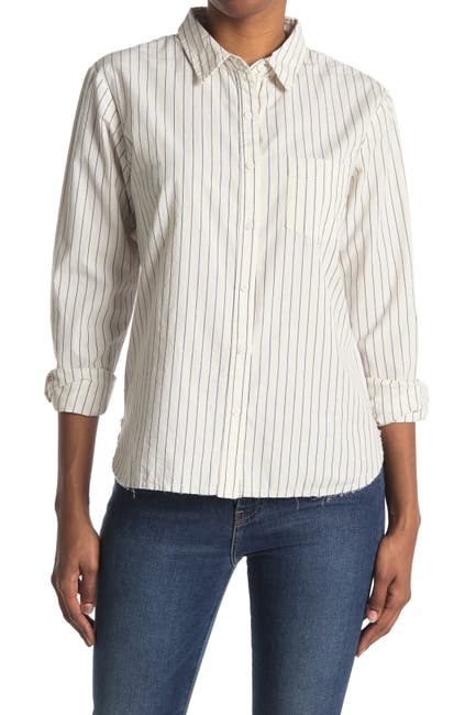Image of Stateside Poplin Classic Button Down Shirt