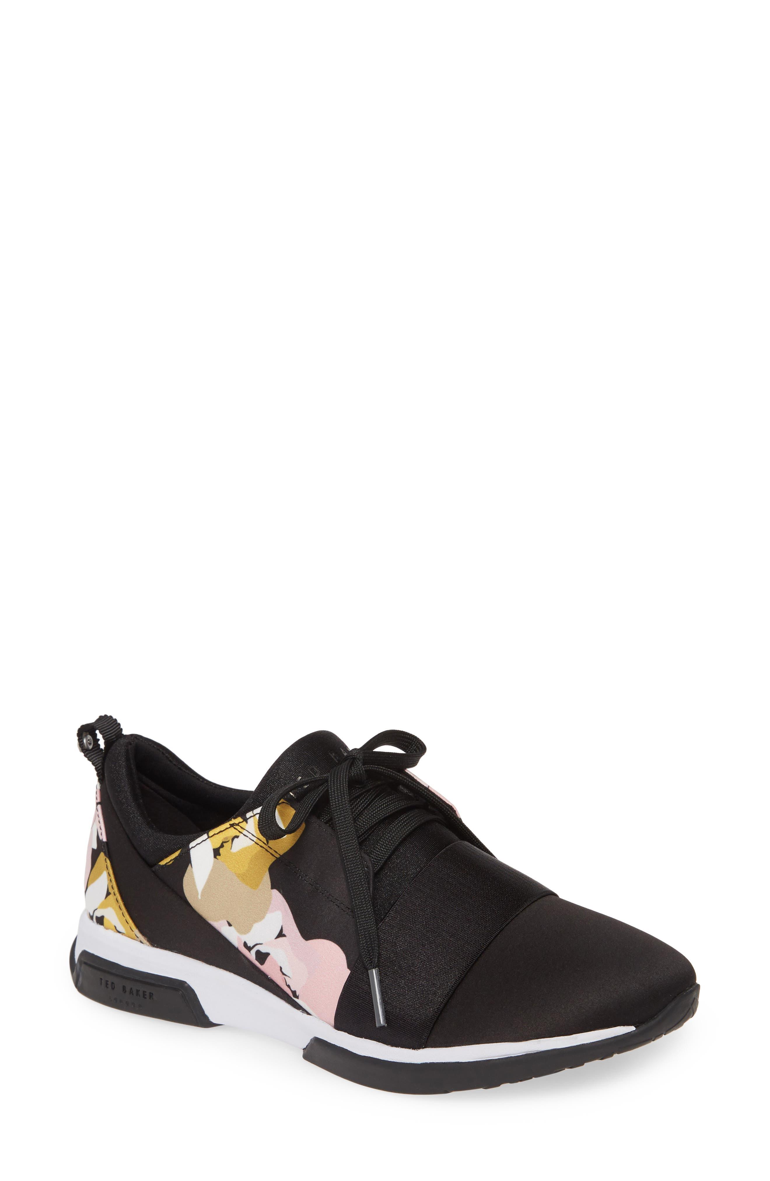 Ted Baker London Cepap Sneaker- Black