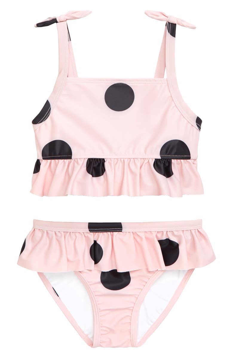 TUCKER + TATE Flutter Stroke Polka Dot Two-Piece Swimsuit, Main, color, 680