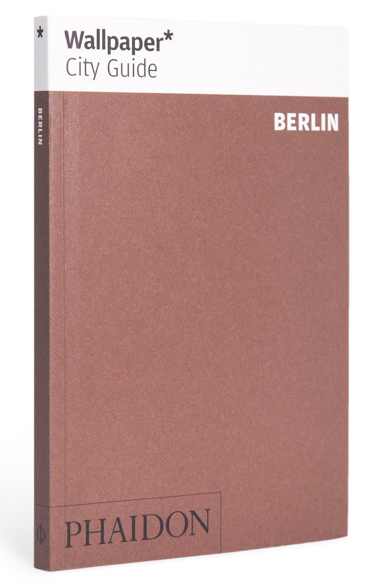 PHAIDON PRESS 'Wallpaper* City Guide Berlin' Pocket Size Travel Book, Main, color, BROWN