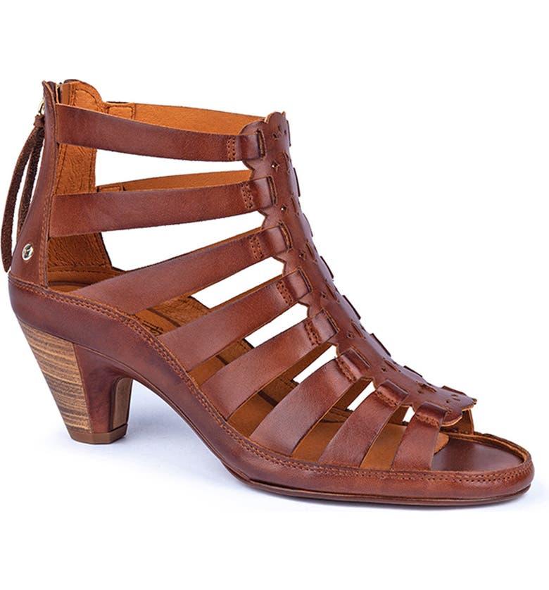 PIKOLINOS Java Gladiator Sandal, Main, color, CUERO