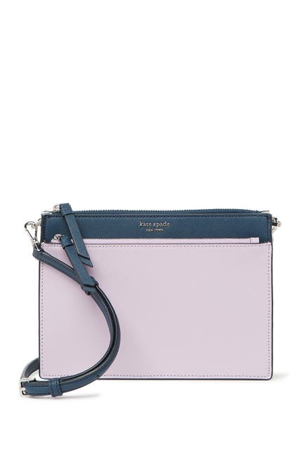 Image of kate spade new york cameron leather zip crossbody bag