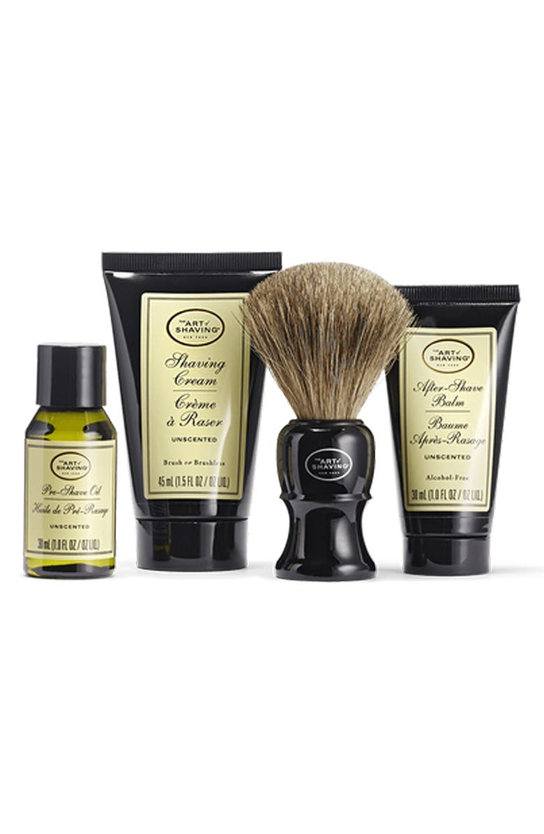 THE ART OF SHAVING <sup>®</sup> Unscented Mid Size Kit, Main, color, 000