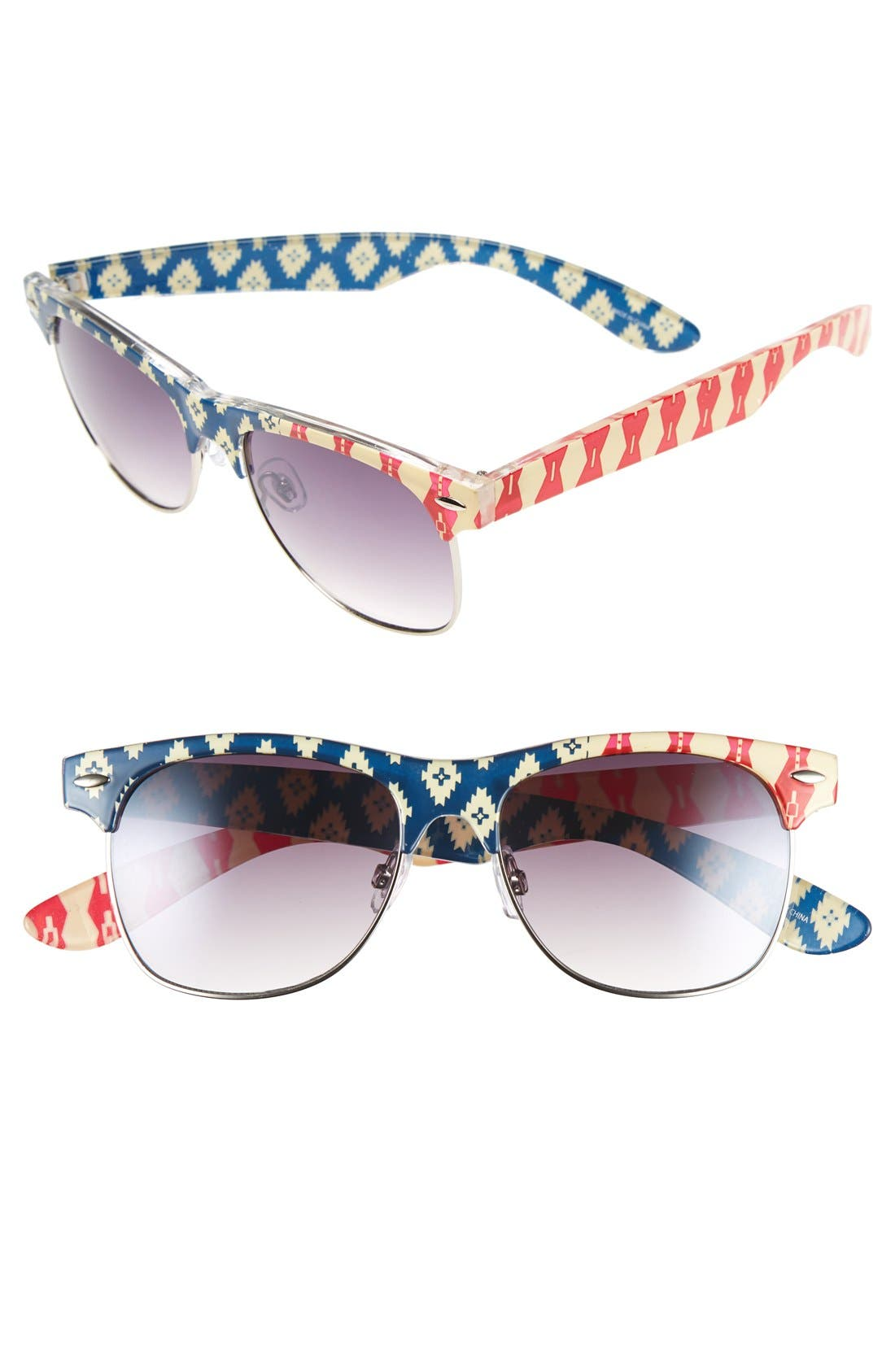 ,                             'Gloria' 55mm Sunglasses,                             Main thumbnail 3, color,                             610