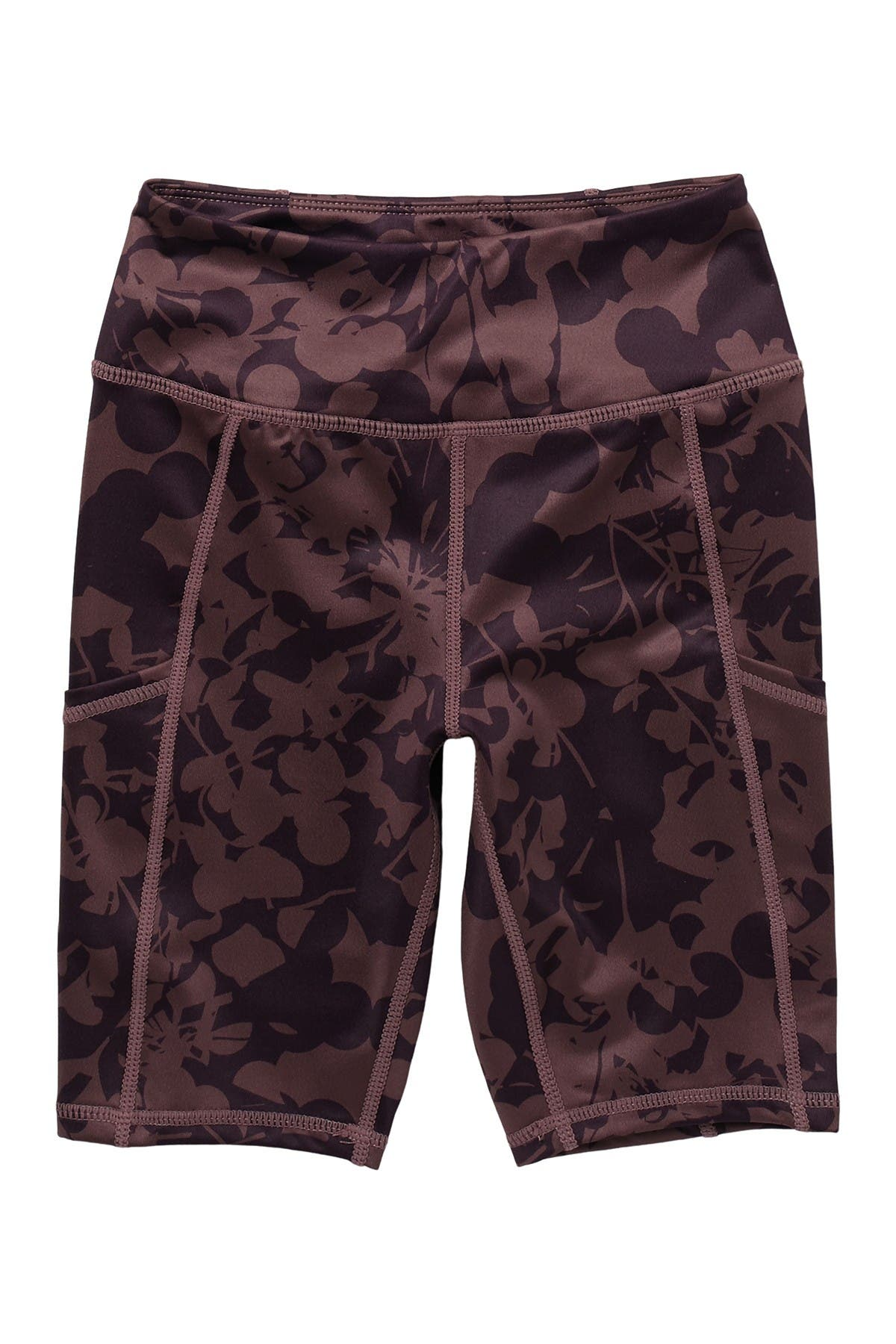 Image of Z by Zella Girl Daily Pocket Camo Print High Waist Bike Shorts