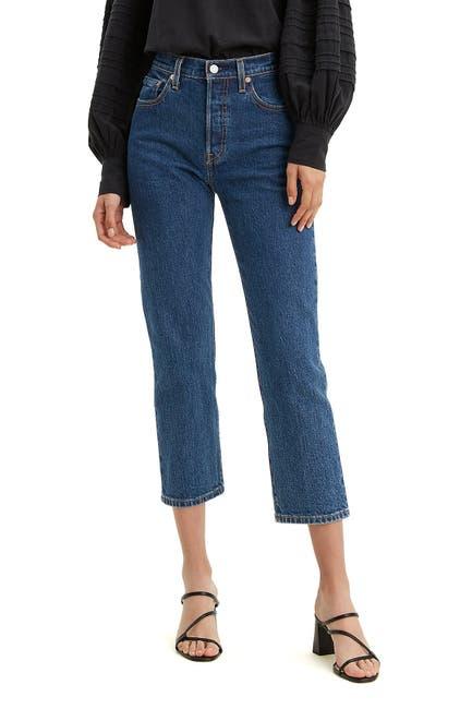 Image of Levi's 501 Crop Jeans