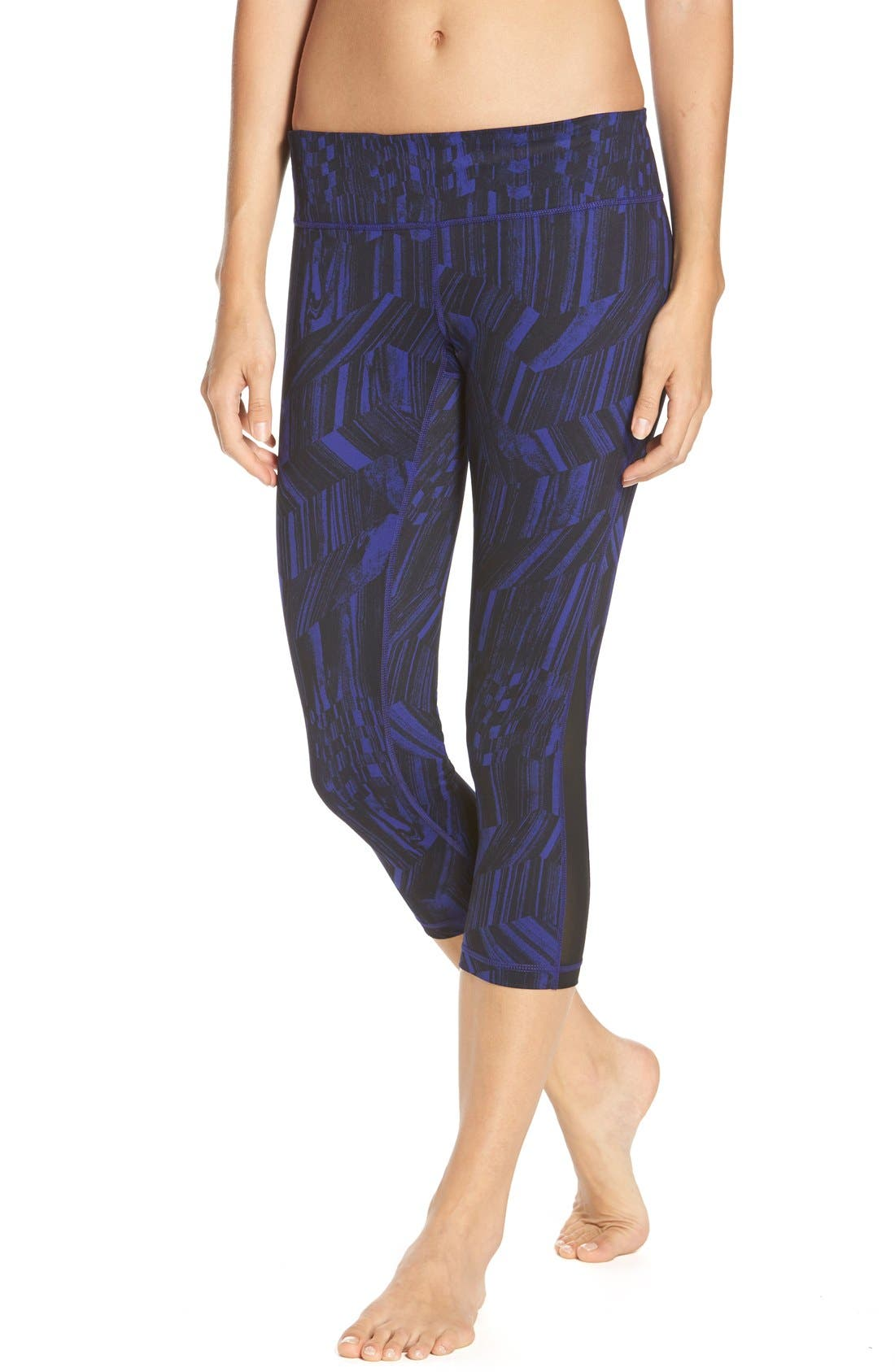,                             Live In Streamline Reversible Capris,                             Main thumbnail 63, color,                             502