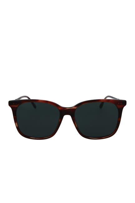 Image of Bottega Veneta Core 56mm Square Sunglasses