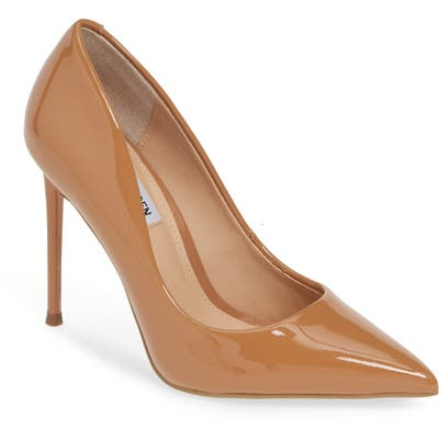 Steve Madden Vala Pointy Toe Pump, Brown