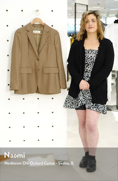 Rosina Camel Hair & Silk Jacket, sales video thumbnail