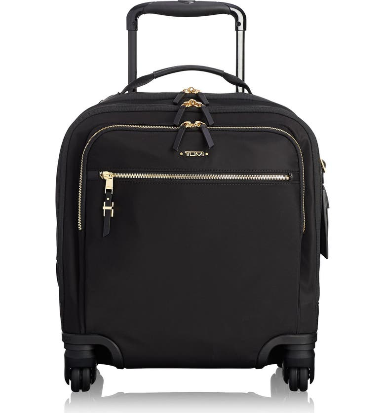 TUMI Voyageur Osona 16-Inch Wheeled Carry-On, Main, color, BLACK